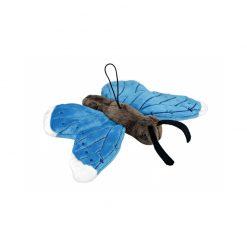 Cornelissen Plüss pillangó akasztóval - kék