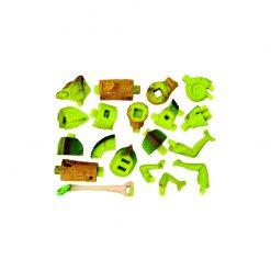 4D Puzzle Összerakható állatfigura | Kaméleon