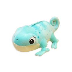 ChameleonFarm Plüss kaméleon L - kék | 45 cm