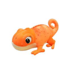 ChameleonFarm Plüss kaméleon L - narancs | 45 cm