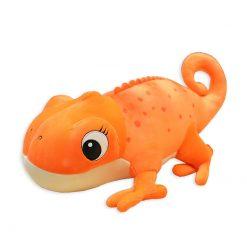 ChameleonFarm Plüss kaméleon XXL - narancs | 60 cm