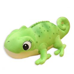 ChameleonFarm Plüss kaméleon XXL - zöld | 60 cm