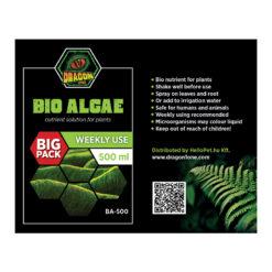 DragonOne Bio Algae Élő algás bio tápoldat növényeknek | 500 ml