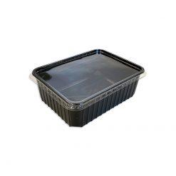 Bugs-World Perforált tároló doboz 1600ml - Fekete | L