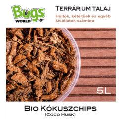 Bugs-World kókuszchips - 5L