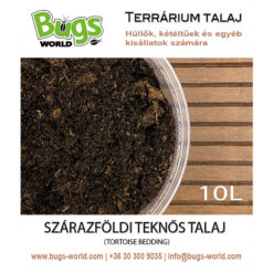 Bugs-World Tortoise Bedding Szárazföldi teknős talaj