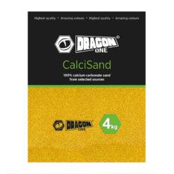 DragonOne CalciSand Természetes kalciumhomok terráriumba   Mustard