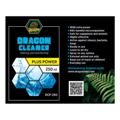 DragonOne Dragon Cleaner POWER Terrárium tisztító, fertőtlenítő oldat | 250 ml
