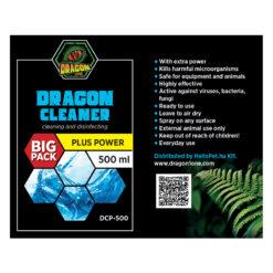 DragonOne Dragon Cleaner POWER Terrárium tisztító fertőtlenítő oldat | 500 ml