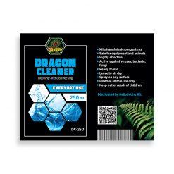 DragonOne Dragon Cleaner Terrárium tisztító, fertőtlenítő oldat   250 ml