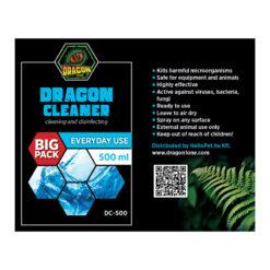 DragonOne Dragon Cleaner Terrárium tisztító fertőtlenítő oldat   500 ml