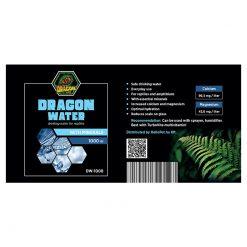 DragonOne Dragon Water Természetes forrásvíz + Ca és Mg | 1000 ml