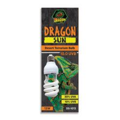 DragonOne Dragon Sun 10.0 Mini Compact Desert UVB izzó   13W