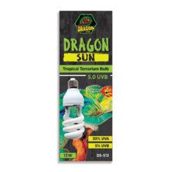 DragonOne Dragon Sun 5.0 Mini Compact Tropical UVB izzó   13W