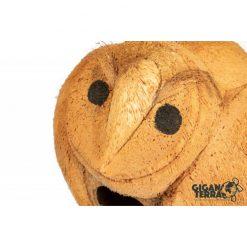 GiganTerra Owl Coconut Shelter Kókuszdió bújóka bagoly