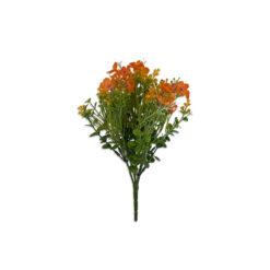 Bugs-World Alyssum Sziklai ternye narancs virágú természetes műnövény
