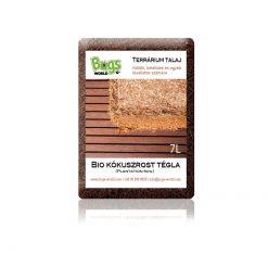 Bugs-World Plantation Soil Bio kókuszrost tégla - 7L
