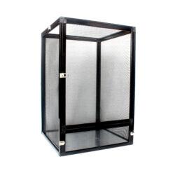 Nomoy Pet Aluminium Cage Hálós terrárium hüllőknek - fekete | M