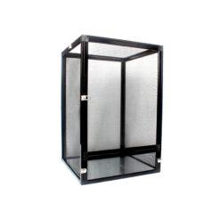 Nomoy Pet Aluminium Cage Hálós terrárium hüllőknek - fekete | S