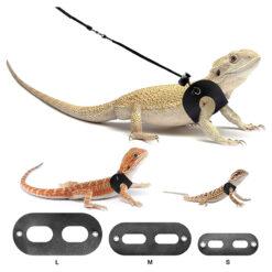 Nomoy Pet Reptile Harness Lizard Leash Hüllőpóráz sétáltatáshoz
