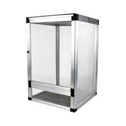Nomoy Pet Aluminium Cage Hálós terrárium hüllőknek - ezüst | M