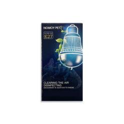 Nomoy Pet Smell Clean lamp Szagsemlegesítő légtisztító izzó   3W