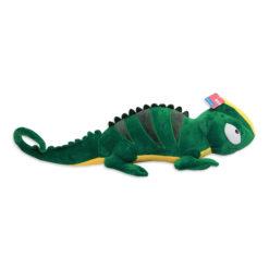 ChameleonFarm Zöld-sárga óriás plüss kaméleon | 110 cm
