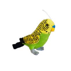 Cornelissen Plüss zöld hullámos papagáj