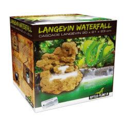 Reptiles-Planet Langevin Waterfall Sziklás vízesés dekoráció