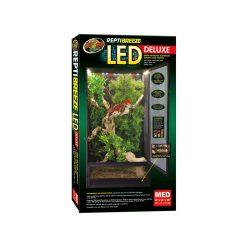 ZooMed ReptiBreeze LED Deluxe Alumínium ketrec világítással